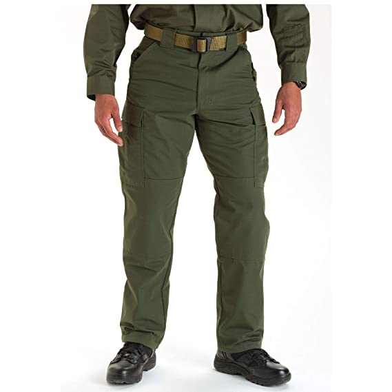 8c969db03ec03 Amazon.com: 5.11 Tactical Men's Ripstop TDU Work Pants, Adjustable  Waistband, Lightweight Bottom, Style 74003: Clothing