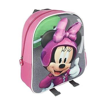 Cerdá 2100002072 3D Minnie Mochila Infantil, 31 cm, Rosa: Amazon.es: Equipaje