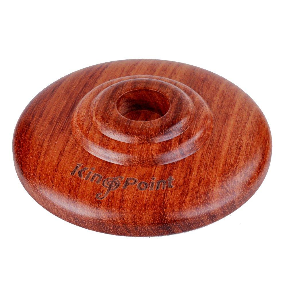 kingpoint Real Rosewood violonchelo Endpin resto con duro de goma alfombrilla antideslizante 10805030