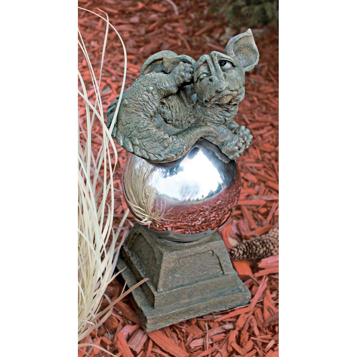 Design Toscano SH22237 Blushing Babel the Bashful Dragon Statue Large