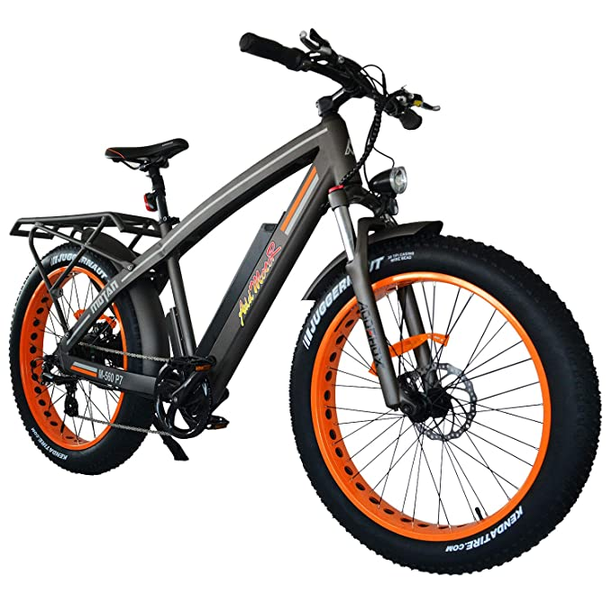 Amazon Com Addmotor Motan Electric Bicycles Mountain Fat Tire 26