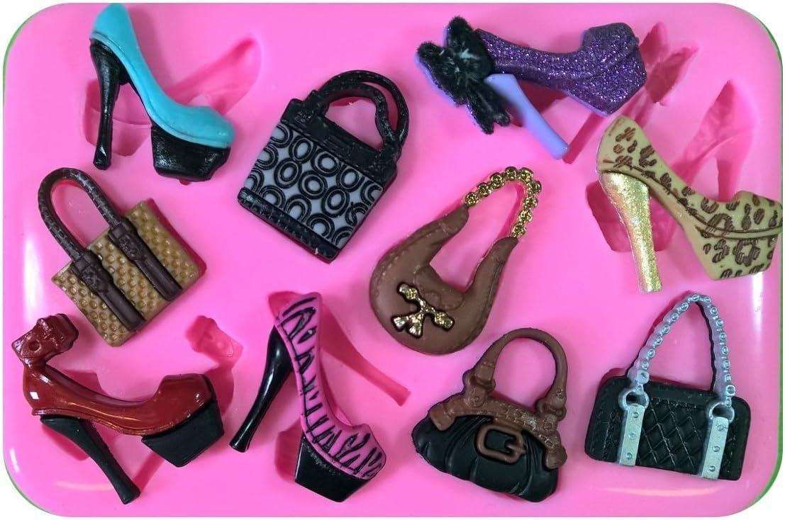 Bolsos y zapatos de estilete Lo que cada chica necesita Molde de ...