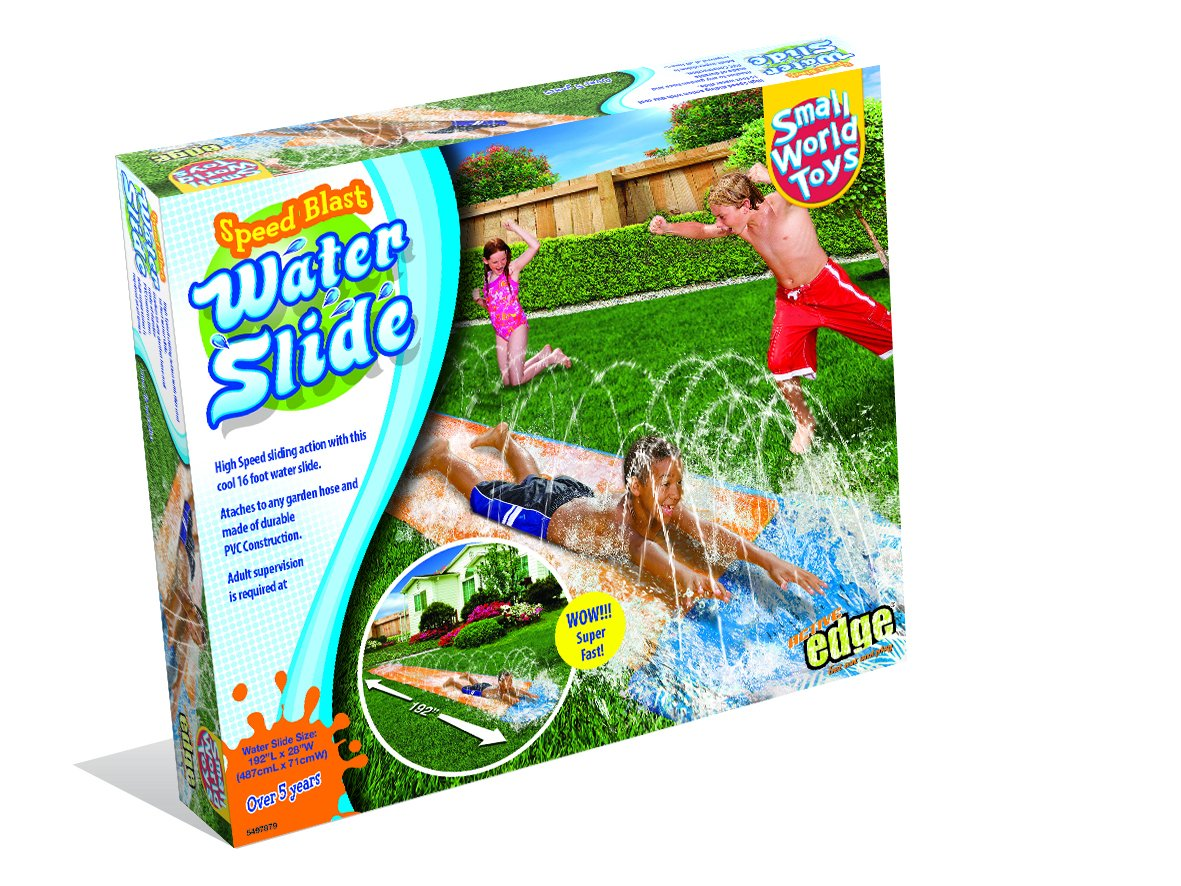 Small World Toys Active Edge- Speed Blast- Water Slide