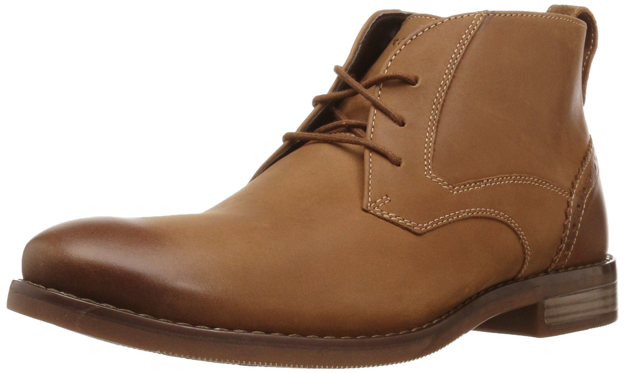 Rockport Men's Karwin Chukka Chukka Boot, Tobacco, 8.5 M US