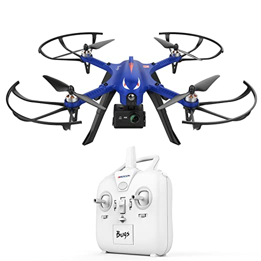 7 opinioni per DROCON – Drone Blue Bugs 3 Potente per Esterni con Motore senza Spazzole,