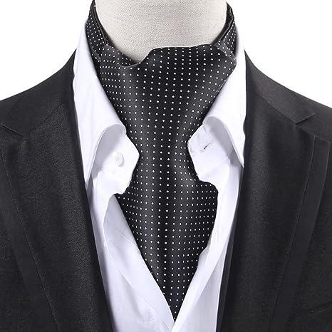 HAIPENG Masculino Seda Corbata Bufanda Hombres Impresión ...