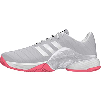 new product 1f91b 91cbe adidas Barricade 2018 W Chaussures de Tennis Femme, Multicolore (Multicolor  000) 36 2