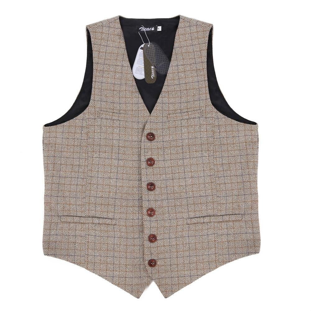 1920s Style Mens Vests Zicac Mens Unique Advanced Custom Vest Skinny Wedding Dress Waistcoat $36.99 AT vintagedancer.com