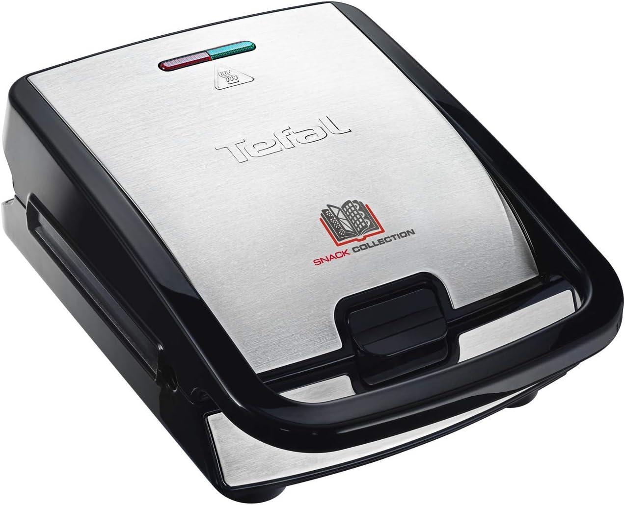 Tefal SW852D - Sandwichera, 700 W, revestimiento antiadherente ...
