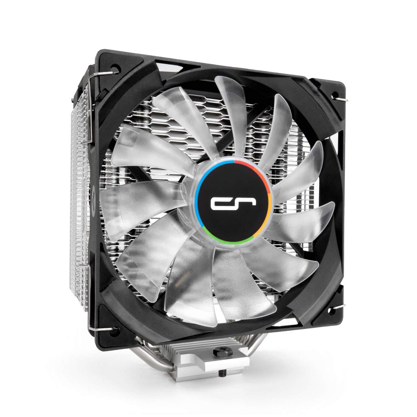Cryorig H7 Quad LUMI Procesador - Refrigeración (Procesador, 10 dB, 25 dB, 1 Ventilador(es), 330 RPM, 1600 RPM)