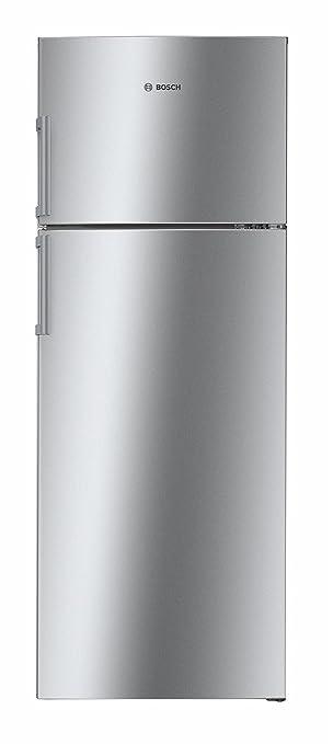 Bosch 347 L 4 Star Frost Free Double Door Refrigerator KDN43VL40I, Inox, Inverter Compressor  Refrigerators