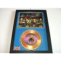 Coldplay firmado disco de oro 7