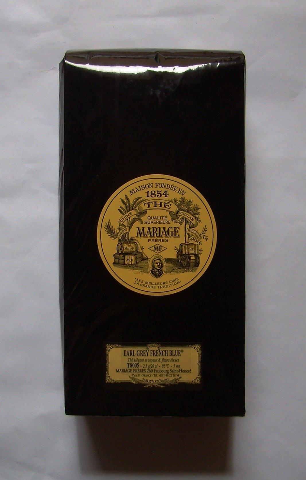 Mariage Frères - EARL GREY FRENCH BLUE® - LOOSE LEAF BAG - 17.63oz / 500gr
