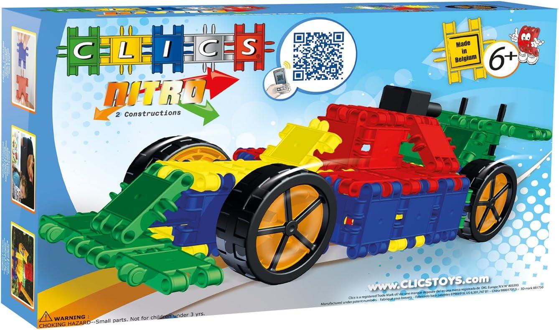 Clics Toys - Nitro, 2 Modelos en 1 (BBM NV CA026)