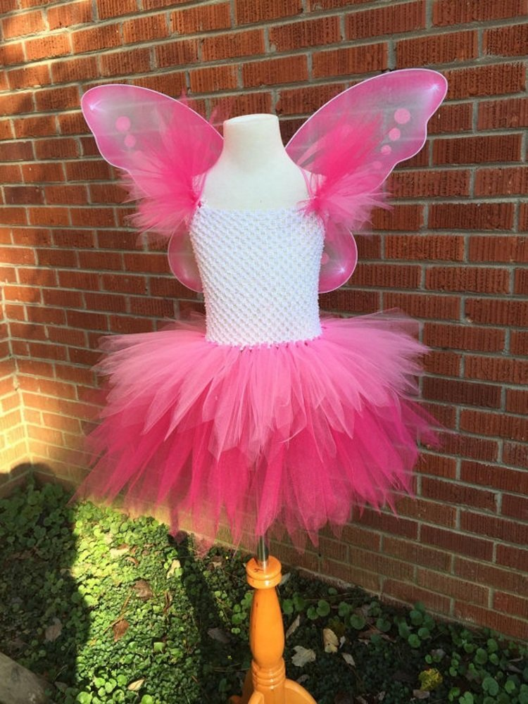 Two Tone Fairy Tutu Dress Costume
