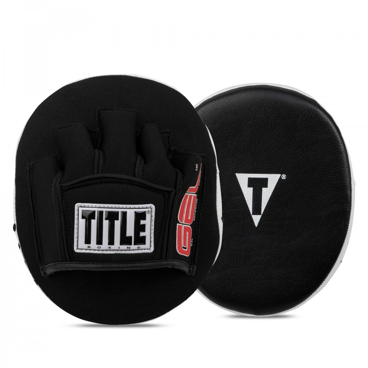 Title Boxing Gel Tech Punch Mitts 2.0, Black