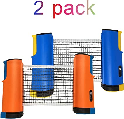 USA Games Retractable Table Tennis Ping Pong Portable Net Kit Replacement BLUE