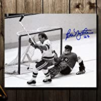 $47 » Autographed Bob Nystrom Photograph - 1980 Stanley Cup GWG 8x10 - Autographed NHL Photos