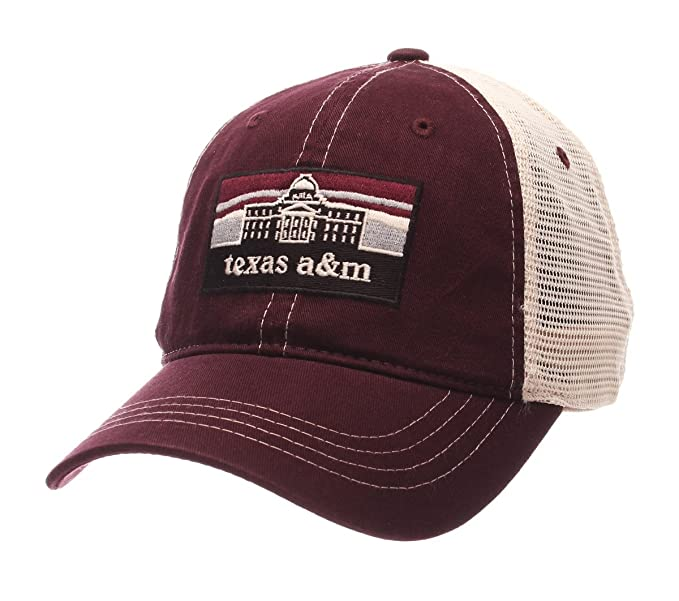 sale retailer a796f 3f6fe ... sale amazon zephyr mens texas am aggies landmark adjustable hat adj  sports outdoors 1b879 ed114