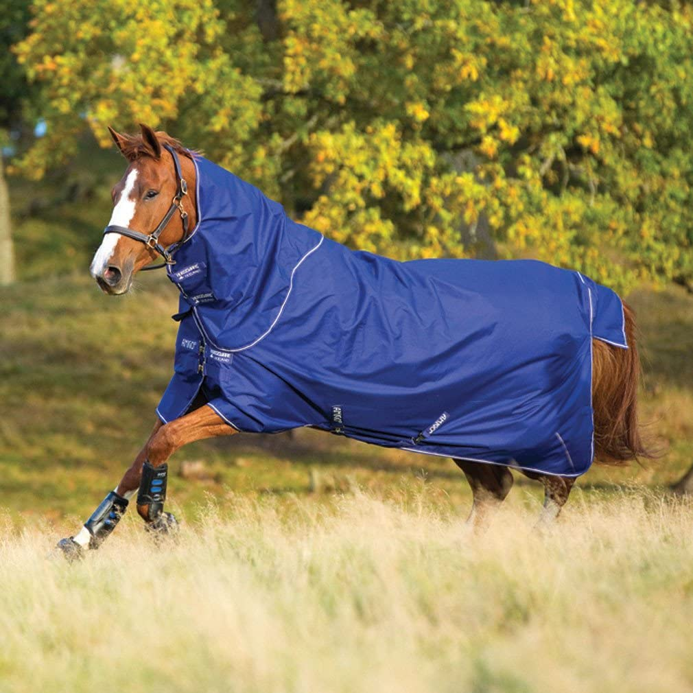 Horseware Amigo Hero 6 Plus Medium With Neck Part Amigo Hero Atlantic Blue 200 G
