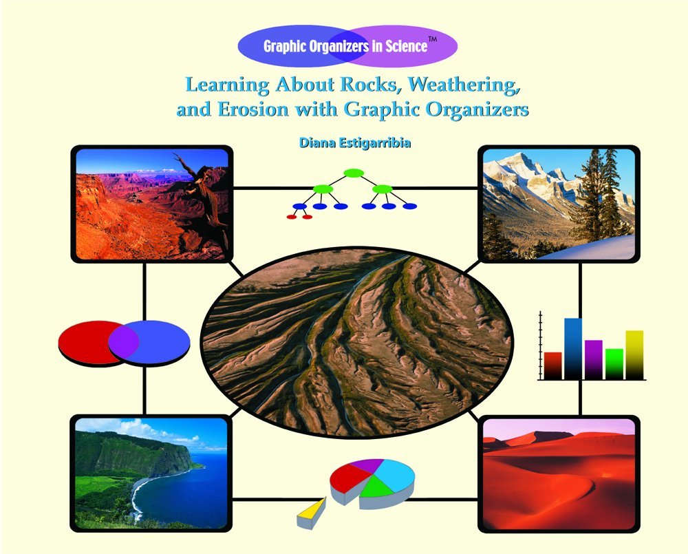 Download Learing about Rocks, Weathering, and Erosion with Graphic Orgainzers (Graphic Organizers in Science) pdf