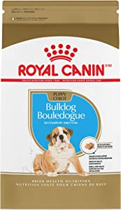 Royal Canin Bulldog Puppy Breed Specific Dry Dog Food, 30 lb. bag