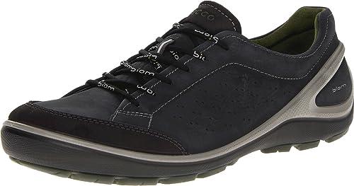 Ecco Biom Grip, Zapatillas de Nordic Walking para Mujer, Moonless, 45 EU: Amazon.es: Zapatos y complementos