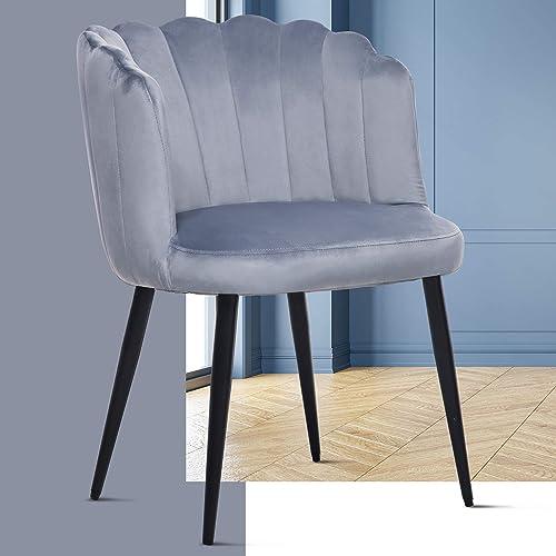 ERGOREAL Velvet Makeup Chair - a good cheap living room chair