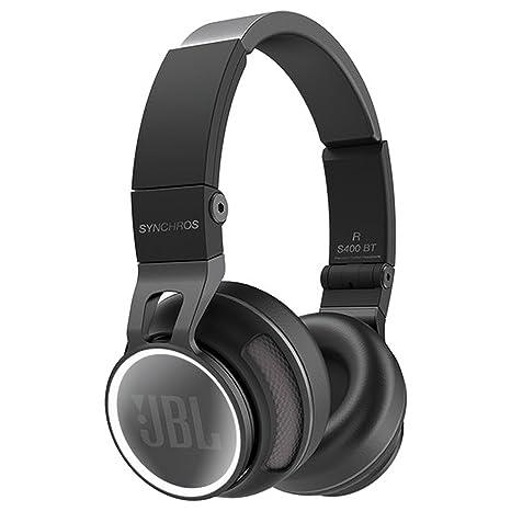 JBL Synchros S400BT Auriculares supraaurales estéreo inalámbricos NFC Bluetooth de alta calidad con funda de transporte