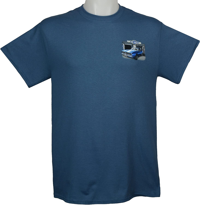 by Nova /& Chevelle Muscle Car T-Shirt 100/% Cotton Preshrunk Blue Joe Blow Ts 67-71 Chevy Camaro