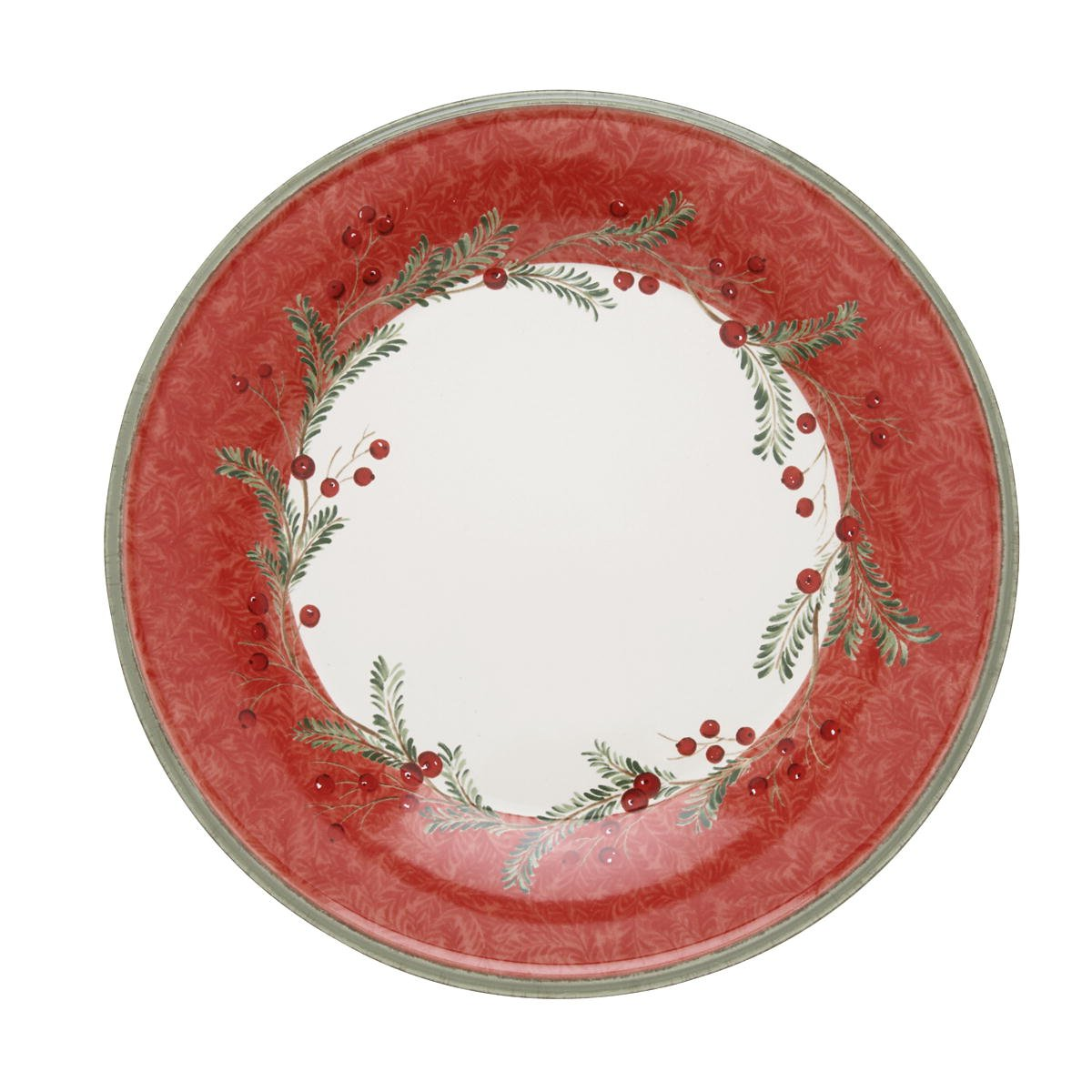 Amazon.com | Lenox Holiday Wreath Dinner Plate Dessert Plates Dinner Plates  sc 1 st  Amazon.com : christmas dinner plates cheap - pezcame.com