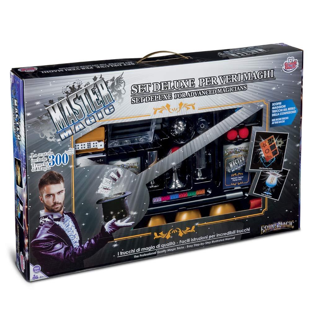 Grandi Giochi Kit Magia 300 Trucchi, Colore Multicolr, GG00297 GG-00297