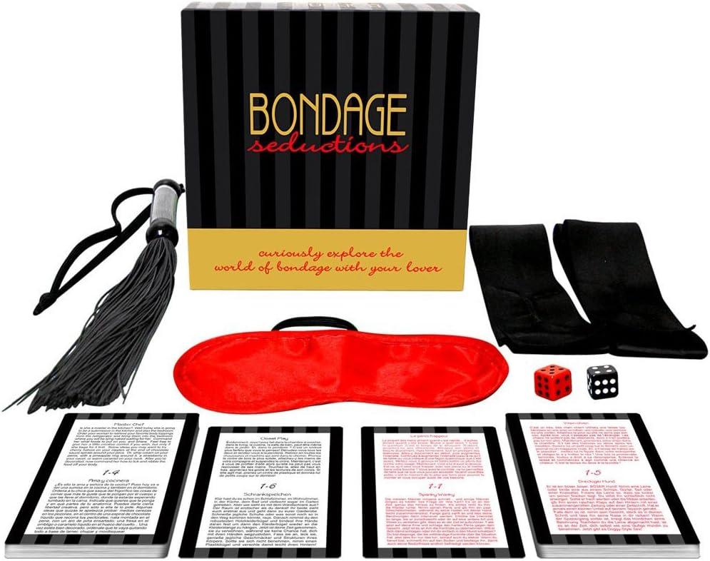 Bondage Seduction Juego Erótico de Mesa para Parejas que Quieran Probar los Placeres del BDSM – Kheper Games: Amazon.es: Salud y cuidado personal