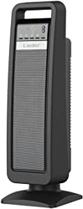 Lasko Digital Ceramic Tower Heater with with Save-Smart Control, Gray