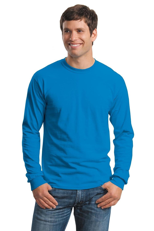 First Quality Gildan 2400 Classic Fit Adult Long Sleeve T-Shirt Ultra Cotton