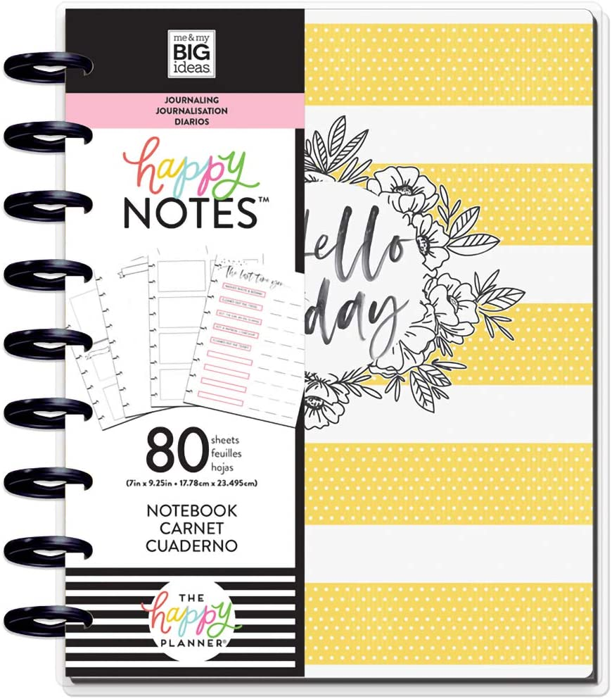 me & my BIG ideas PBJR-01 The Happy Planner - Classic Guided Journal - Hello Today, Multicolor