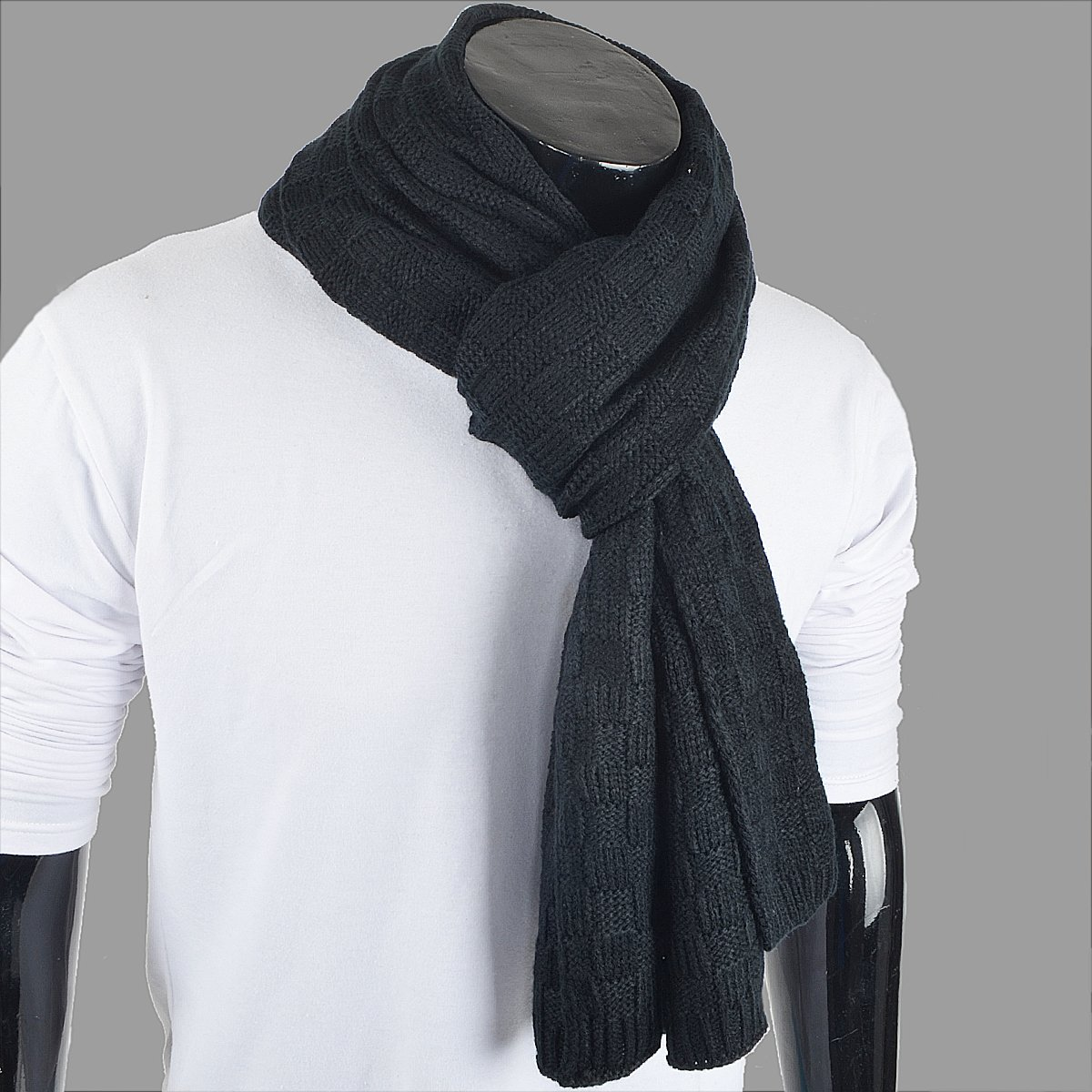 Elegante Patrón Daily Elegante Square unisex lana invierno bufanda ...