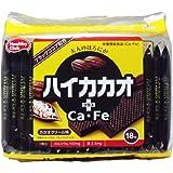 ハイカカオ プラスCa・Fe ウエハース カカオクリーム味 18枚