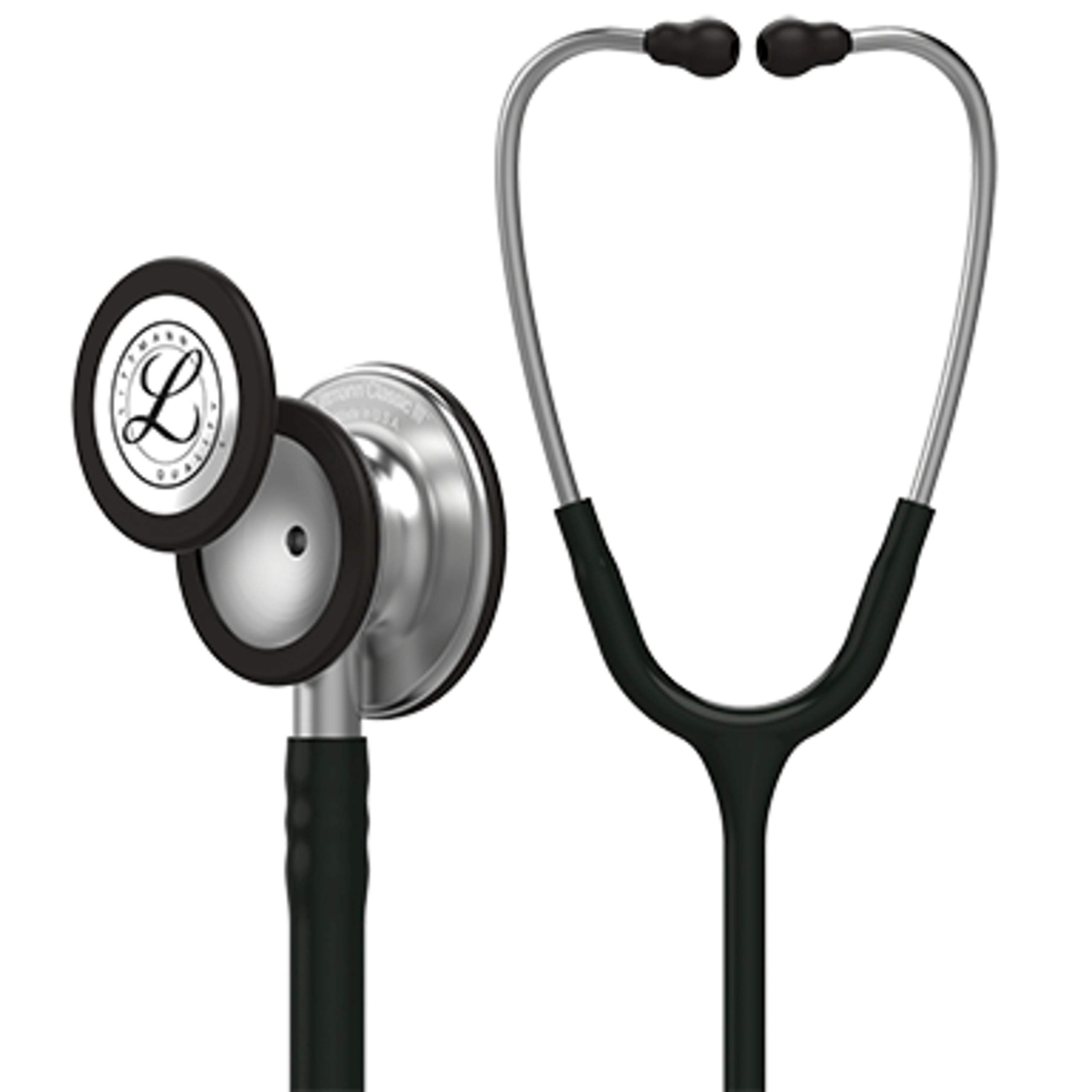 3M Littmann Classic III Monitoring Stethoscope, Black Tube, 27 inch, 5620
