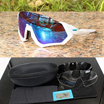 Amazon.com: PAOOD Gafas de sol polarizadas para ciclismo ...