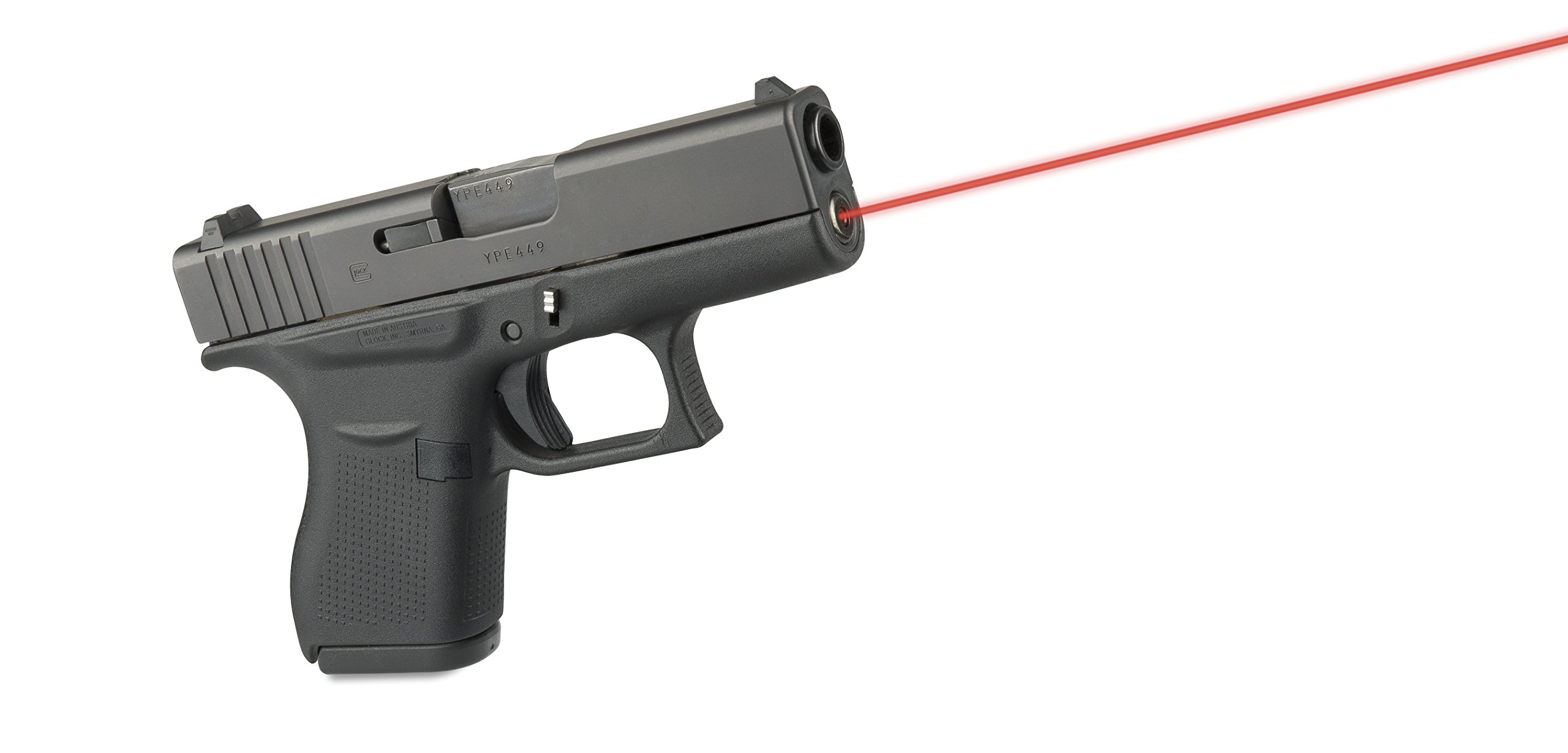Guide Rod Laser (Red) For Glock 43 by LaserMax (Image #3)