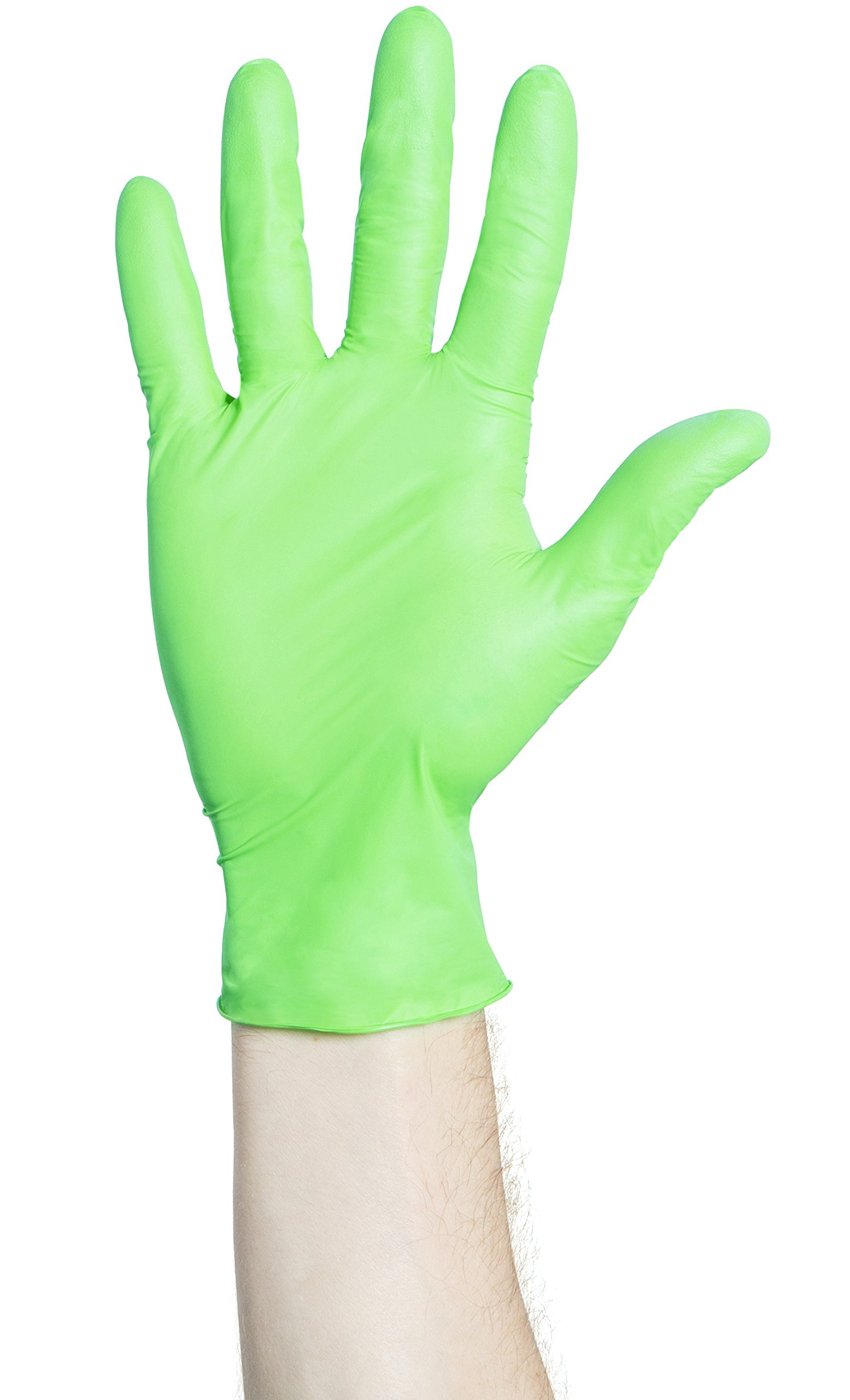 Halyard Health 44796 Chloroprene Gloves - Flexaprene Green - X-Large - 200/BX