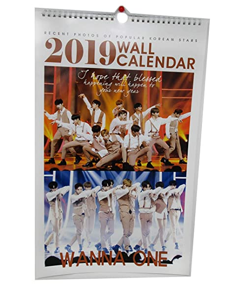 Amazon.com: BTS 2019 - Calendario de pared (+ calendario de ...