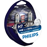 Philips 12972RVS2 RacingVision +150% H7 Scheinwerferlampe, 2er Packung