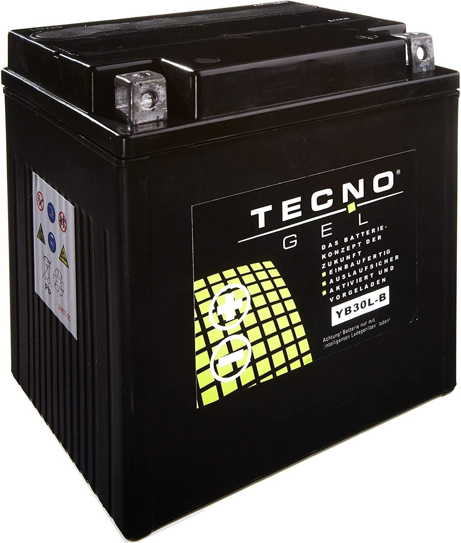 YB30L-B Tecno Gel-batterie pour FLHT 1450 Electra Glide Standard Ann/ée 1999-2003