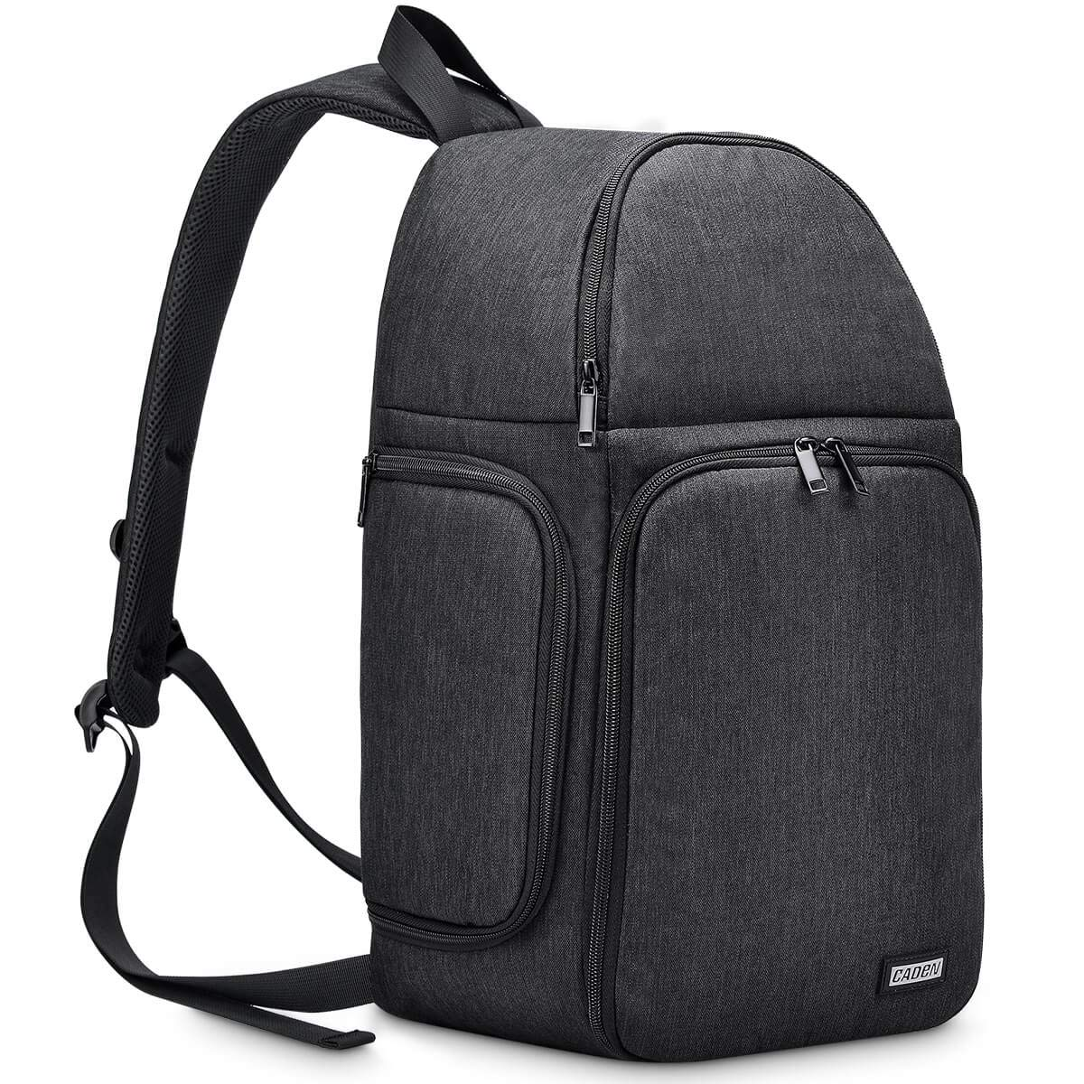 CADeN Camera Bag Sling Backpack, Camera Case Waterproof with Modular Inserts Tripod Holder for DSLR/SLR and Mirrorless Cameras (Canon Nikon Sony Pentax) by CADeN