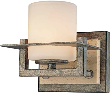 minka lavery glass wall sconce lighting 1 light 75 - Minka Lighting