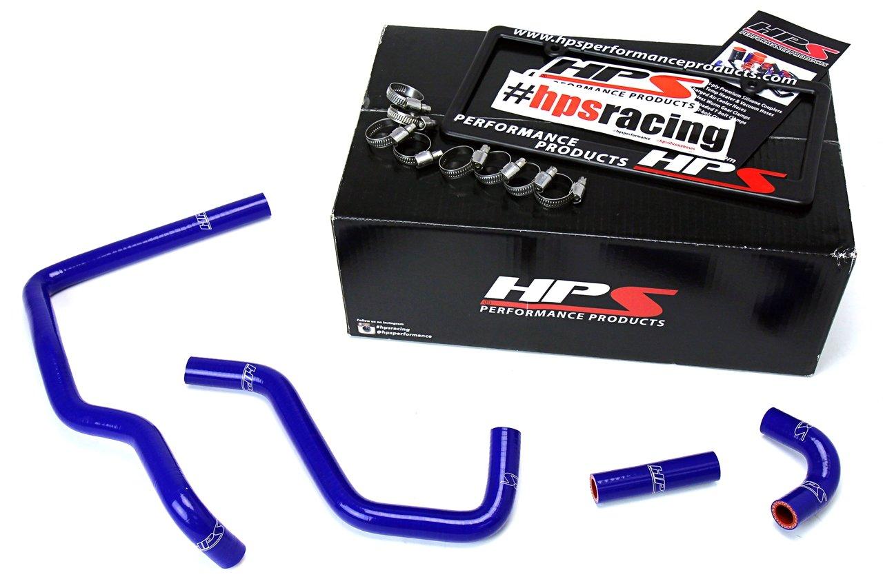 HPS 57-1587-BLUE Blue Silicone Heater Hose Kit Coolant