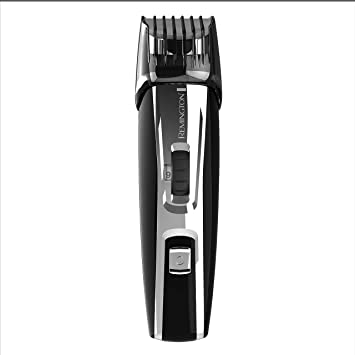 Remington MB4040 Lithium Ion Powered Mustache, Beard and Stubble Trimmer Kit (4 pieces), Black