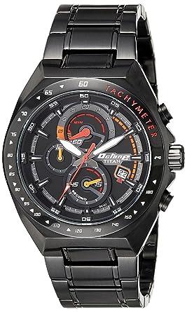 66416822ae Buy Titan Octane Chronograph Black Dial Men's Watch -90048NM01 ...